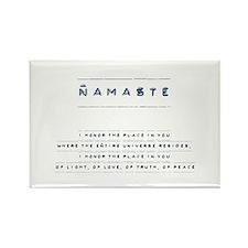 Namaste Rectangle Magnet (100 pack)