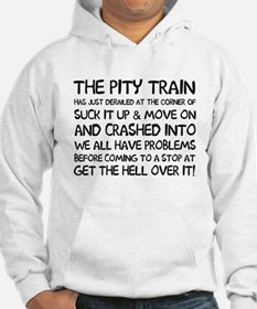 The pity train Hoodie