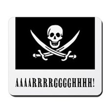 AAARRRGGGHHH! with Jolly Roger Pirate Design Mouse