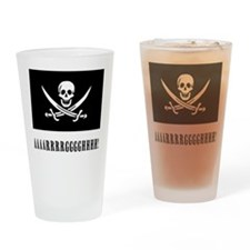 AAARRRGGGHHH! with Jolly Roger Pirate Design Drink