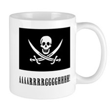 AAARRRGGGHHH! with Jolly Roger Pirate Design Mug