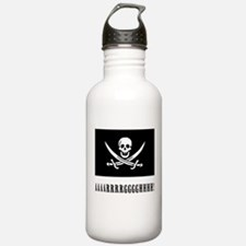 AAARRRGGGHHH! with Jolly Roger Pirate Design Water