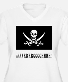 AAARRRGGGHHH! with Jolly Roger Pirate Design Plus