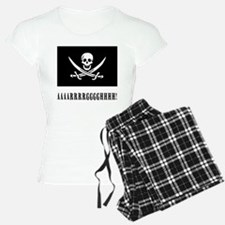 AAARRRGGGHHH! with Jolly Roger Pirate Design Pajam