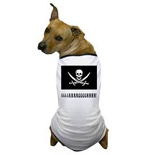 AAARRRGGGHHH! with Jolly Roger Pirate Design Dog T