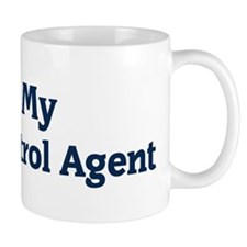 I Love My Border Patrol Agent Mug