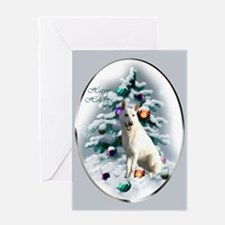 White German Shepherd Greeting Card