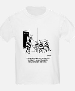 Bees in Sex Ed T-Shirt