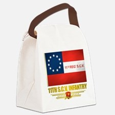 11th SCV Infantry Canvas Lunch Bag