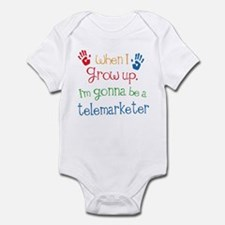 Future Telemarketer Infant Bodysuit
