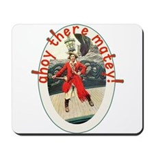 Ahoy There Matey! Pirate Day Tshirt Mousepad