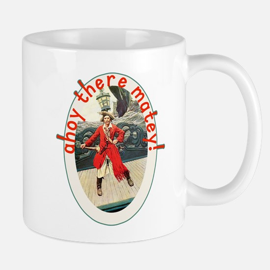 Ahoy There Matey! Pirate Day Tshirt Mug