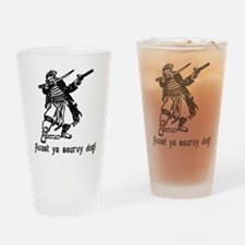 Avast ye scurvy dog! Talk Like A Pirate Day Drinki