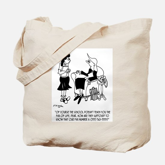 The Fax of Life Tote Bag