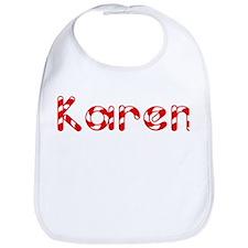 Karen - Candy Cane Bib