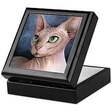 Cat 578 Keepsake Box