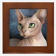 Cat 578 Framed Tile
