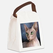 Cat 578 Canvas Lunch Bag