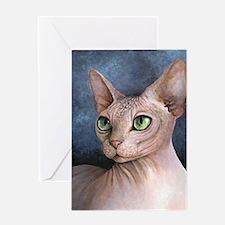 Cat 578 Greeting Card
