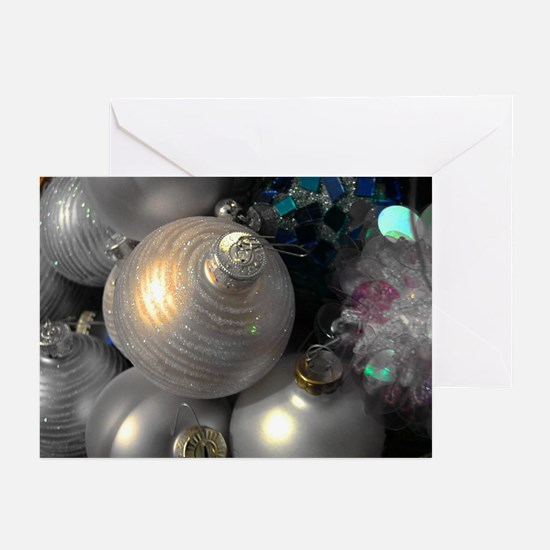 Silver Ornament Greeting Cards (Pk of 10)