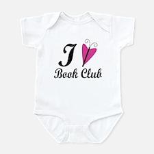 I Heart Book Club Infant Bodysuit