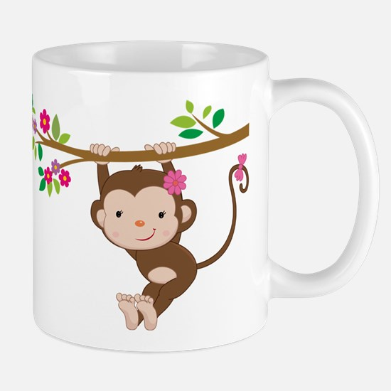 Swinging Baby Monkey Mug