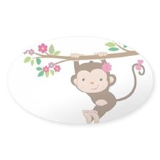 Swinging Baby Monkey Decal