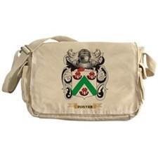 Foster Coat of Arms Messenger Bag