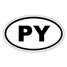 Paraguay PY Decal