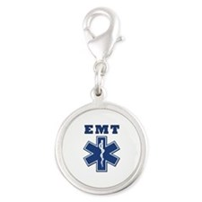EMT Blue Star Of Life* Charms
