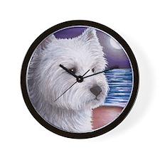 Dog 81 Wall Clock