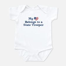 My Heart: State Trooper Onesie
