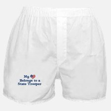 My Heart: State Trooper Boxer Shorts