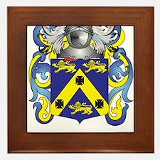 Fowler Coat of Arms Framed Tile