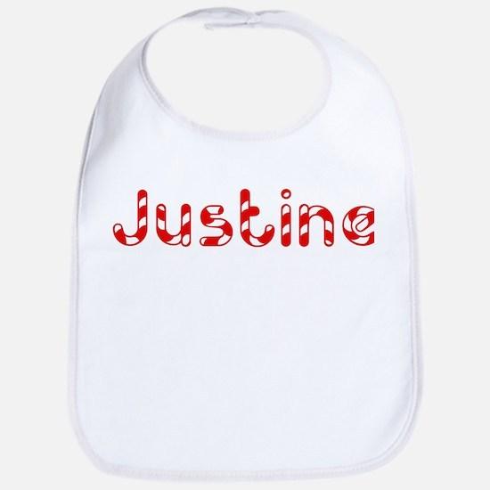 Justine - Candy Cane Bib