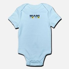 Miami - Nautical Flags. Infant Bodysuit