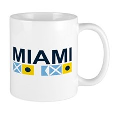 Miami - Nautical Flags. Mug