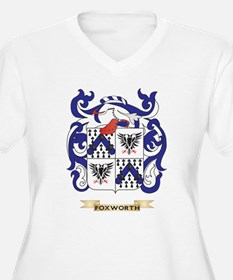 Foxworth Coat of Arms Plus Size T-Shirt