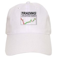 Cute Stock market trader Baseball Cap