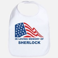 Loving Memory of Sherlock Bib