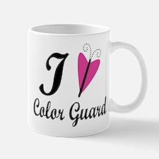 I Heart Color Guard Mug