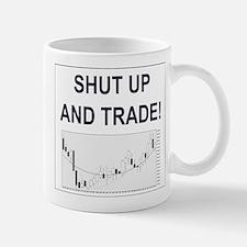 Shut up and trade! Mugs