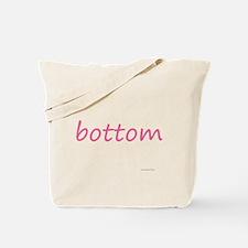 bottom pink Tote Bag