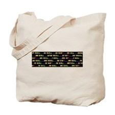Ticker Tote Bag