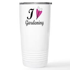 I Love Gardening Ceramic Travel Mug
