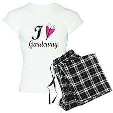 I Love Gardening Pajamas