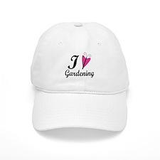 I Love Gardening Baseball Cap