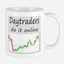 Daytraders do it online Mug