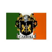 Carroll Arms Flag Rectangle Magnet (10 pack)