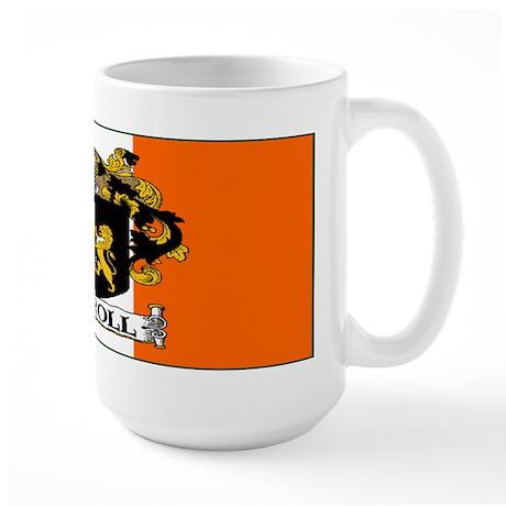 Carroll Arms Flag Large Mug